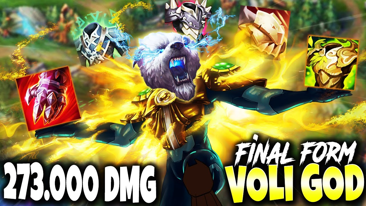 The FINAL FORM of IMMORTAL VOLIBEAR BUILD GUIDE 🔥 6 Items 273.000+ TOTAL DMG 🔥 LoL Top Voli Gameplay