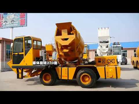 New Mini Self Loading Mobile Concrete Mixer Truck From ...