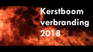 Kerstboomverbranding Vogelenzang 2018