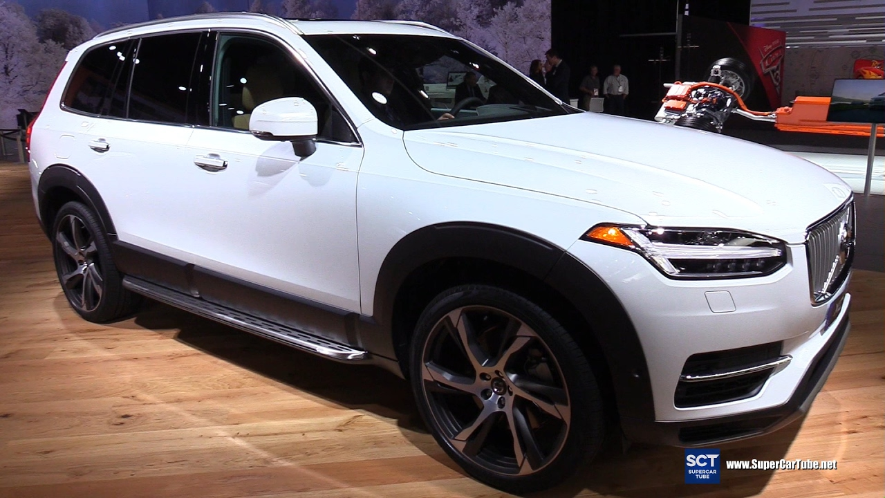 2017 Volvo Xc90 T8 Inscription Exterior And Interior Walkaround Detroit Auto Show You