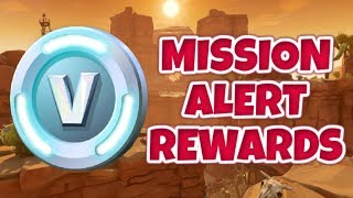 How To Earn V-Bucks From Mission Alert Rewards In Save The World | Fortnite Save The World Guide