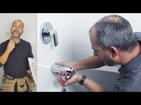 How to Install a Bathroom Finishing Trim Kit