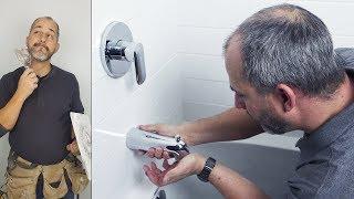 Shower Fixture Installation Instructions