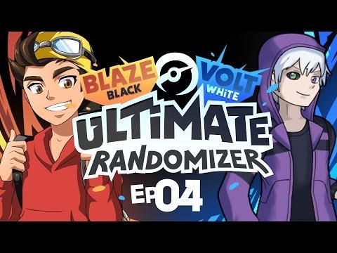 WATER SPOUT?! | Pokémon Blaze Black & Volt White Ultimate Randomizer Versus w/FeintAttacks Ep04