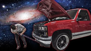 Contemplating the Universes Greatest Mysteries While Working On My Truck