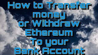 How to Withdraw Ethereum | How to transfer Money from Trust Wallet to Bank Account | Smart Contract