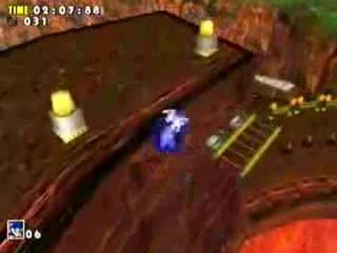 Sonic Adventure Red Mountain (Dreamcast)