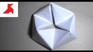 Как сделать оригами ФЛЕКСОР из бумаги А4 своими руками?