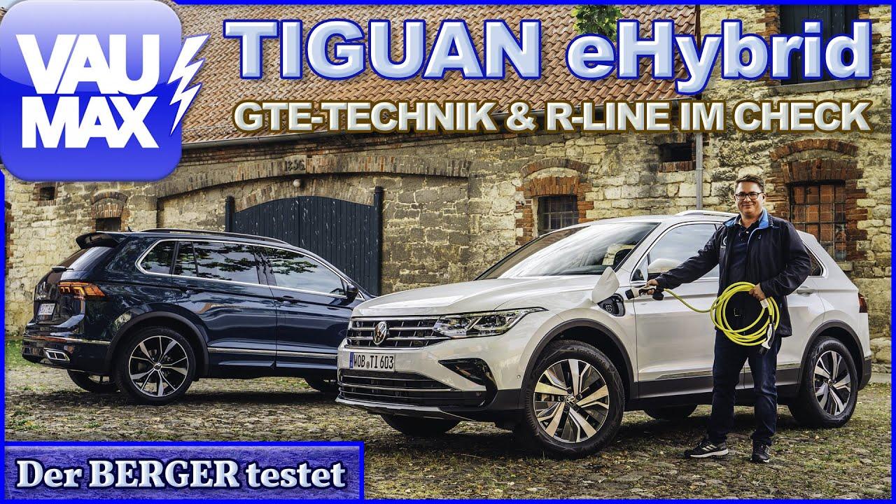 2021 Tiguan eHybrid R-Line im Test | Was kann die GTE ...