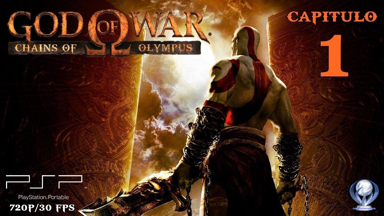 God of War Chains of Olympus (Gameplay en Español, Psp) Capitulo 1 Costas  de Atica