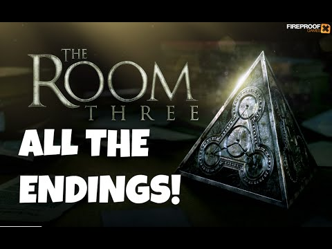 The Room Three (3) - ALL ALTERNATE ENDINGS! - COMPLETE WALKT
