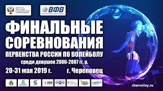 Тобольск – Москва-1. Первенство России. Девушки. 2006–2007 гг. р. Финал. 29 мая 2019 года