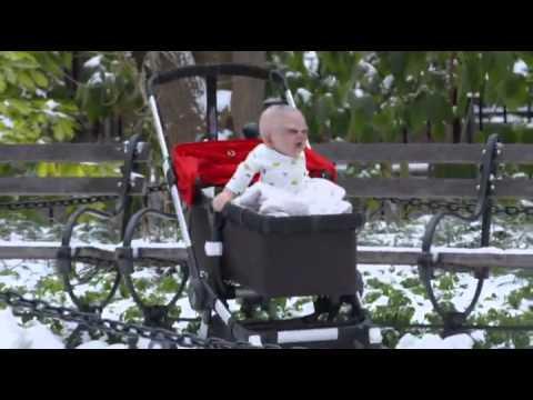 Ребенок-Дьявол в коляске (страшное видео)(strangeworlds.at.ua)