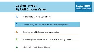 AAII Silicon Valley: Part III - Constructing your all weather portfolio