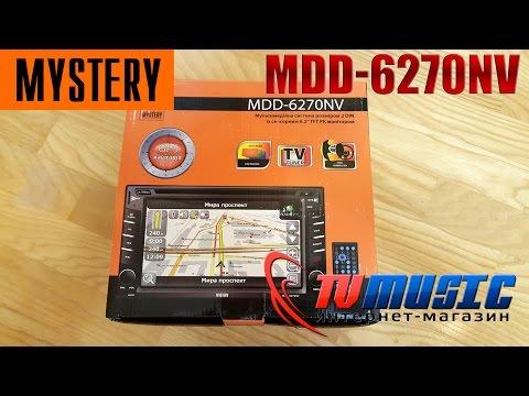 Обзор автомагнитолы Mystery MDD-6270NV. Мультимедийный центр.