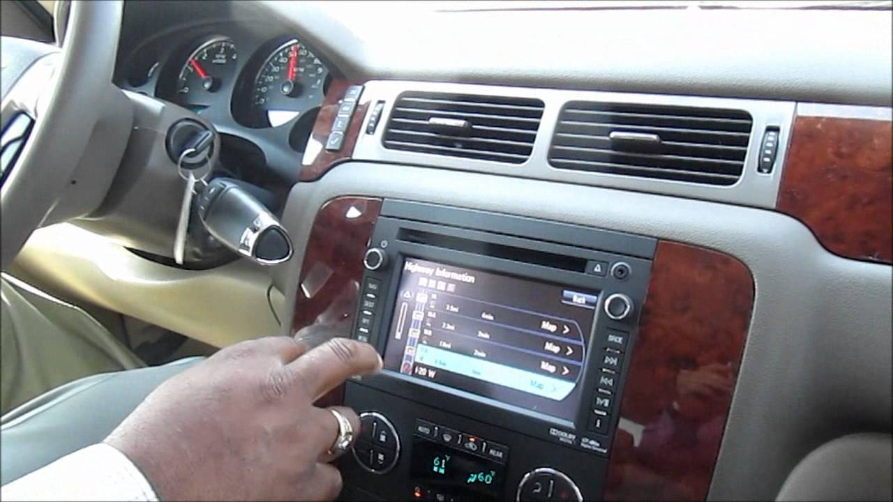2013 Chevrolet Navigation System Youtube