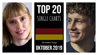 TOP 20 SINGLE CHARTS ♫ best of OKTOBER 2019 [D]