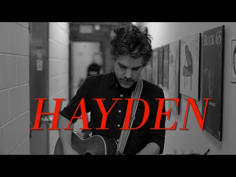 Hayden Live at Massey Hall | February 28, 2015