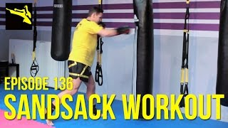 Kickbox Training #136 - Sandsack Workout / Kickboxen lernen / Köln / Bonn / Fitness