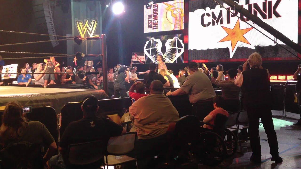 Download CM Punk entrance at WWE NXT @ Full Sail University 8/23/12