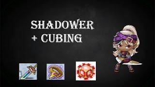 Maplestory Reboot Shadower + Cubing Dagger & Secondary