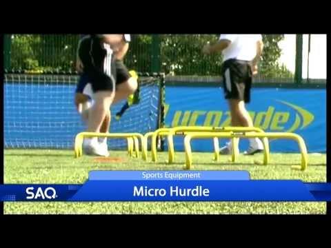 SAQ Micro Hurdle - Coerver Football Coaching (Speed, Agility, Quickness (SAQ®)