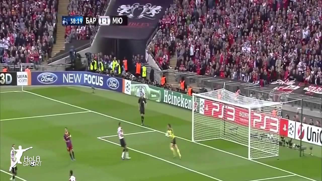 مباراة برشلونة ومانشستر يونايتد 3 1 الشوط الثاني