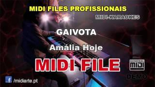 ♬ Midi file  - GAIVOTA   - Amália Hoje