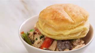 How to Make Slow-Cooker Creamy Chicken and Mushroom Potpie   How To: Kitchen   Real Simple