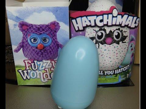 Fuzzy Wonderz FAKE Hatchimals UNBOXING knock off Hatchimal