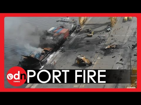 Dubai Port EXPLOSION Brings Middle East's Largest Commercial Hub to a Standstill
