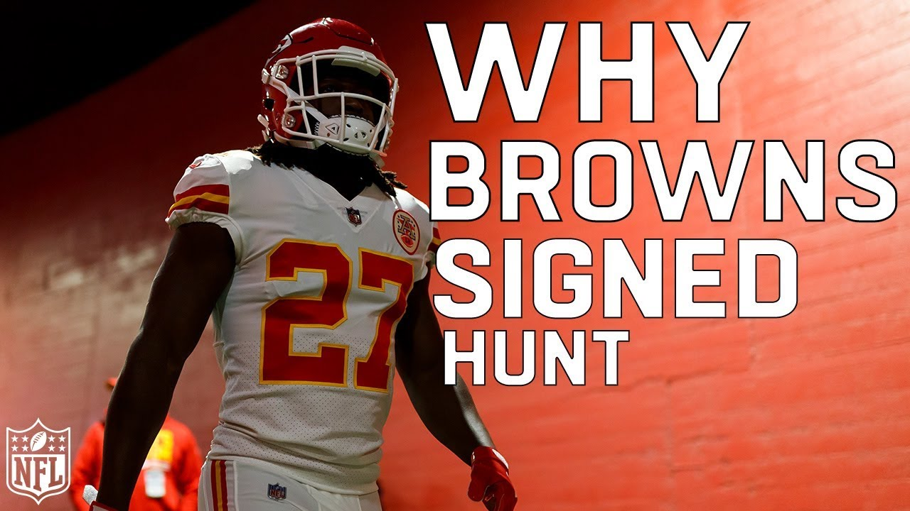 Browns sign RB Kareem Hunt