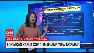 Lonjakan Kasus Covid-19 Jelang 'new Normal'