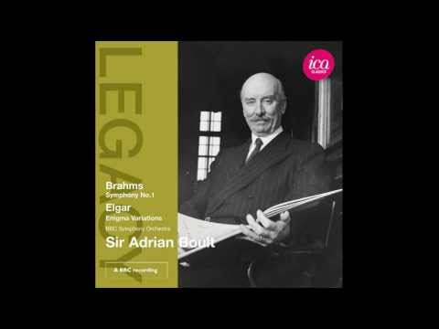 Sir Adrian Boult - Brahms- Symphony No.1 [1st movement] | ICA Classics CD