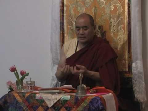 Lama Chopa tsok practice with Traga Rinpoche