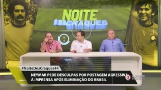 Rivelino detona Neymar