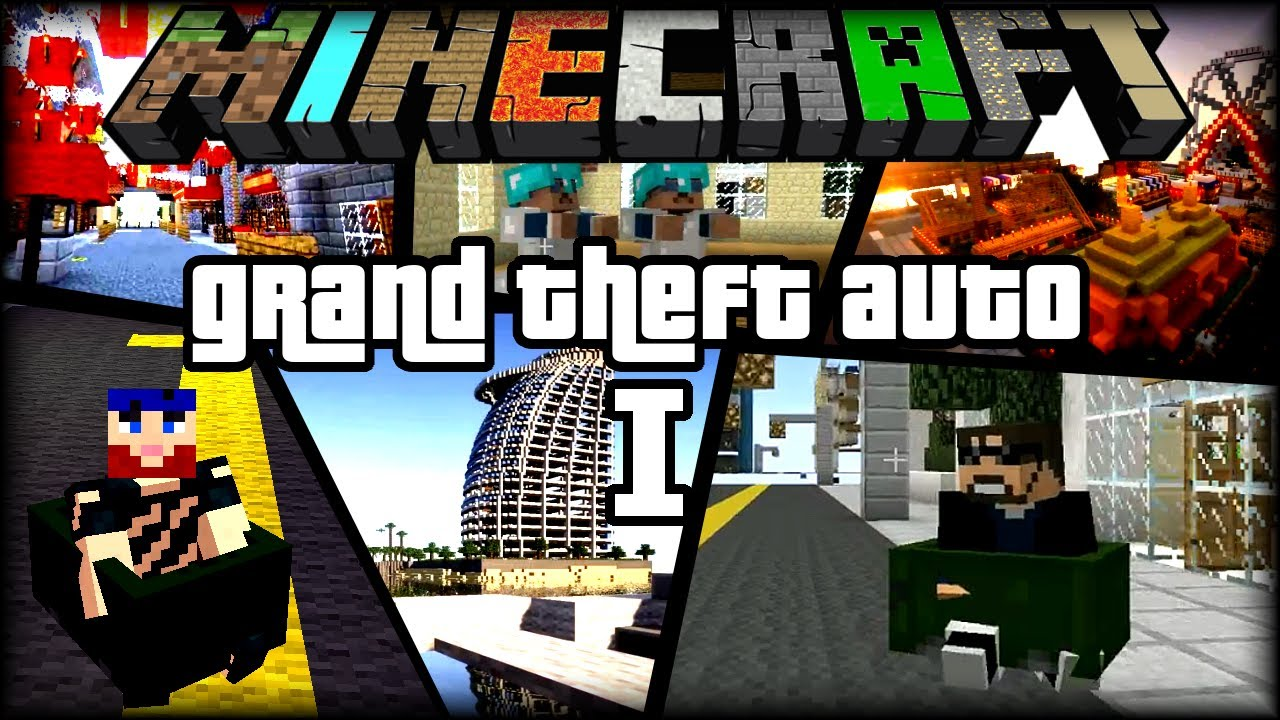 Minecraft Grand Theft Auto #1 Where The Gangstas At