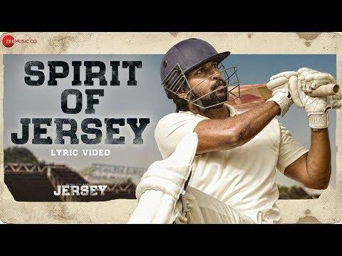 Spirit Of Jersey Lyrical  Jersey  Nani, Shraddha Srinath  Anirudh Ravichander
