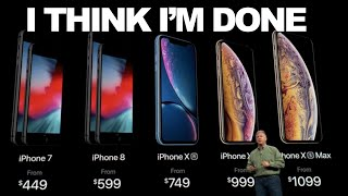 I'm Not Ordering a New iPhone