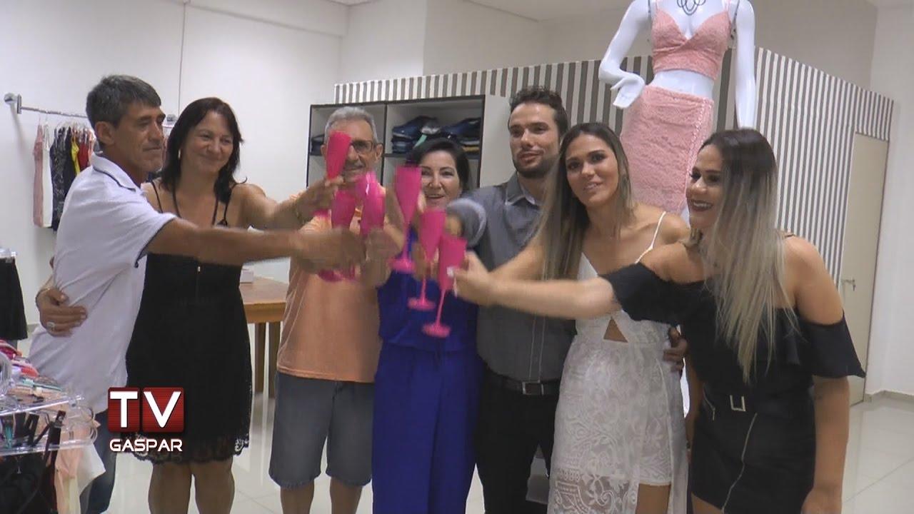 3ded13f3d Loja de moda feminina e infantil é inaugurada em Gaspar - YouTube
