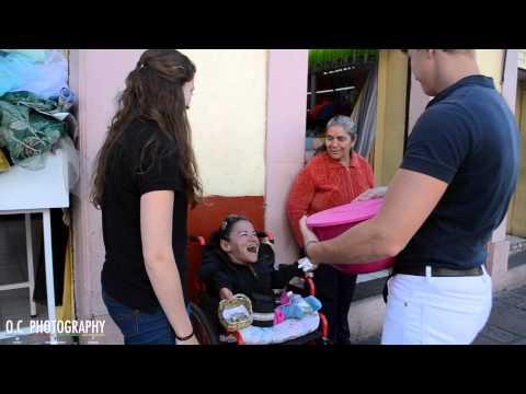 Ana Claudia Haro  l Candidata Señorita Lobos l Entrega de comida en Zacatecas