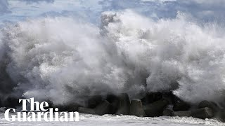 Typhoon Faxai forces thousands to evacuate in Greater Tokyo Area