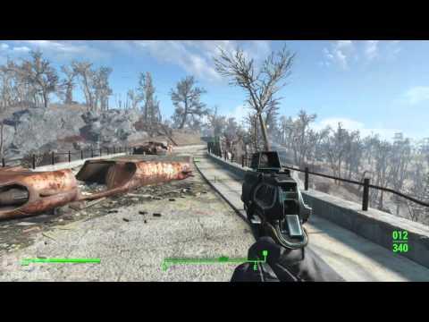 Fallout 4 playthrough pt18 - Sunshine Tidings Co-op: 1st Legendary Beast/Settlement Crafting