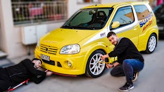 ΖΑΝΤΕΣ & ΦΡΕΝΑ! - Suzuki Project #3 | TechItSerious Vlog