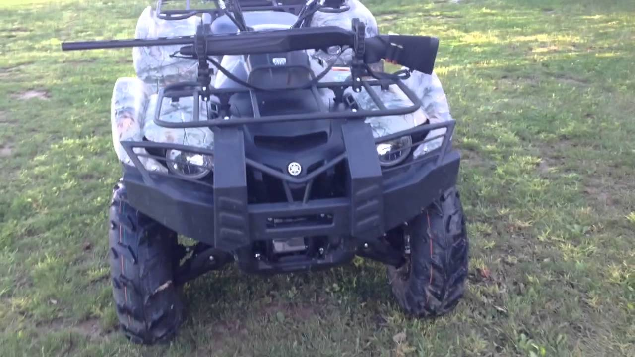 2014 camo yamaha grizzly 700 walk around youtube for 2014 yamaha grizzly 700 for sale
