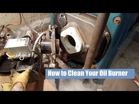 How to Clean Out a Burnham Oil Boiler