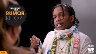 A$AP Rocky Opens Up About Sex Addiction In New Angie Martinez Show