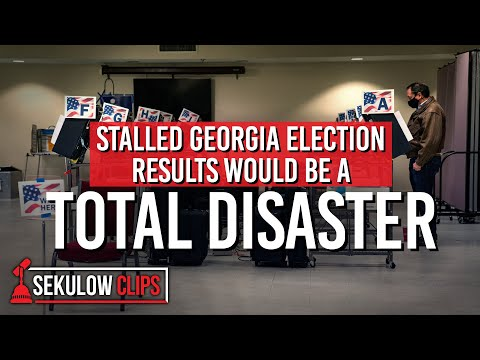 Stalled Georgia Election Results Would Be a Total Disaster