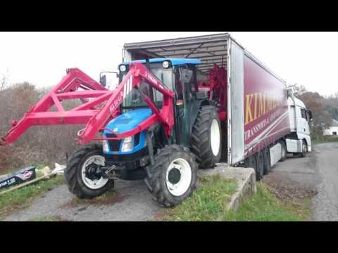 tracteur agricole remorque vs poids lourd youtube