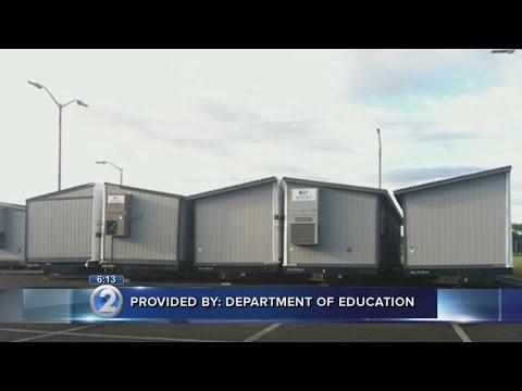 DOE builds alternate site for Big Island schools near lava flow